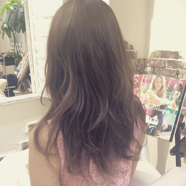 #ash#guraduation#hair#color#kamesama
