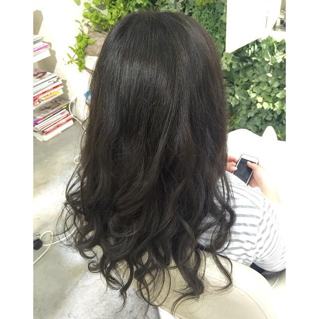 黒髪でも透明感をpart2!!!! ブルー×モノトーン☻Risa