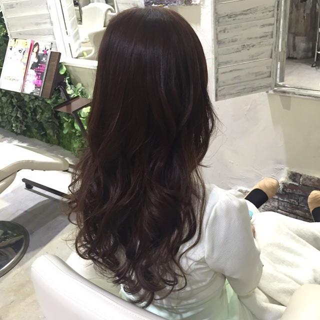 ブラウンcolorの効果☆#色落ちしにくい#ツヤがでやすい#綺麗に見える#モテカラー髪質に合わせていろんなブラウンができますよー!!ぜひおためしを♡Risa