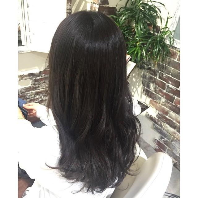 #黒髪だけど透明感  『ブルーブラウン』Risa